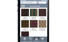 Wilton Carpets Launch Commercial Carpet Search Mobile App
