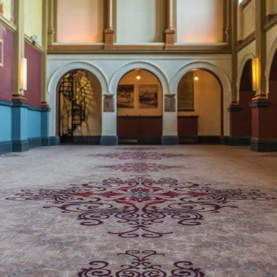 Beaumont Estate Bespoke Wilton Carpet Design