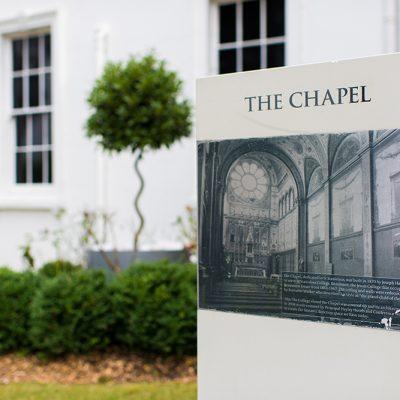 Beaumont Estate Chapel Sign