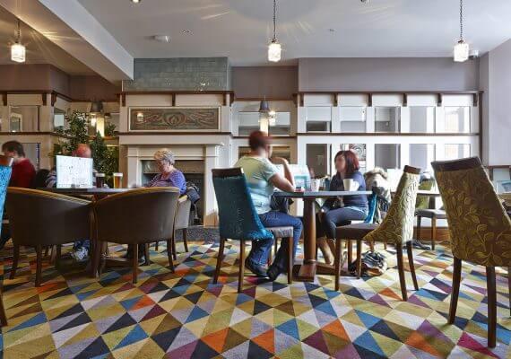 The Blue Bell, Hemsworth, Wilton Carpets, Bespoke