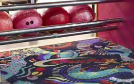 Branded Carpet Tiles Are The Perfect Fit For Bowlplex