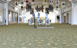 Winning Carpet By Wilton At Cheltenham Racecourse