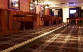 It's A Wonderful Bar With Wilton Carpets