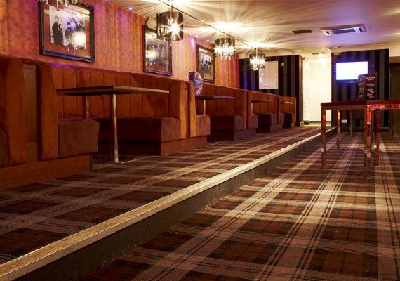 Chicago Rock Cafe, Windsor, Wilton Carpets Bespoke