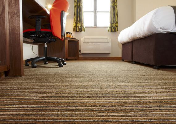 Canfield Management Centre, Bedroom, Wilton Carpet Bespoke